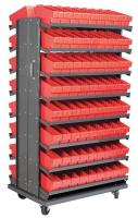 10A086 Double Sided Pick Rack, 36.75InWx60.25InH