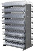 10A090 Double Sided Pick Rack, 36.75InWx60.25InH