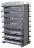 10A095 Double Sided Pick Rack, 36.75InWx60.25InH