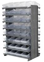 10A101 Double Sided Pick Rack, 36.75InWx60.25InH