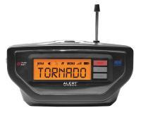 13E399 Table Top Weather Radio, Black