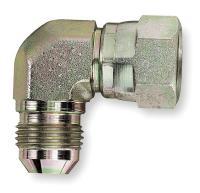 1LNT7 Male Connector, 90 Deg, 1 In Tube Sz, SS