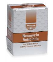 1PBZ7 Antibiotic Cream, Neomycin, 0.9 gm, PK 25