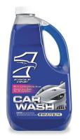 1PKR9 Car Wash Detergent, 64 oz, Use w/Wool Mitt