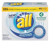 20J203 Powder Laundry Detergent, 52 oz., PK 6