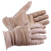 21W090 Leather Gloves, Goatskin, Coyote, L, PR
