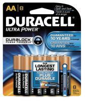 2HYL6 Battery, AA, Performance Alkaline, PK 8