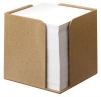 38C624 Memo Cube, 1 Compartment, Brown