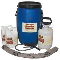 39R471 Spill Control Kit, Fuel, 10 gal.