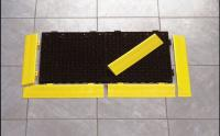3LMD5 Safety Grit Tile, 1 x 1 ft., 3/4 In Th, Blk
