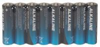 4TAE5 Battery, Alkaline, AA, 1.5V, PK 8
