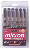 5DJJ8 Rollerball Pen, Stick, 0.25mm, Multi, PK 6