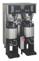 6DGZ3 Dual Coffee Brewer, Stainless Steel